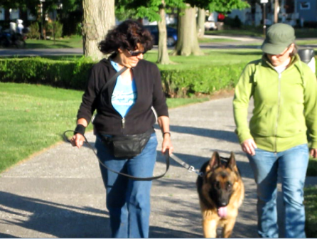 Ronna Murray & Hawk, Mindful K9 clients from Fairview Park Ohio
